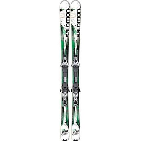 Купить Горные лыжи с креплениями SALOMON 2013-14 K Enduro XT 800 + KZ12 B80 WHITE/GR 901331