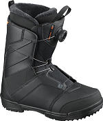 Ботинки для сноуборда SALOMON 2020-21 Faction Boa Black/Black/Red/Orange
