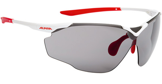 Купить Очки солнцезащитные Alpina PERFORMANCE SPLINTER SHIELD C+ white-red/black fogstop S3 1131694