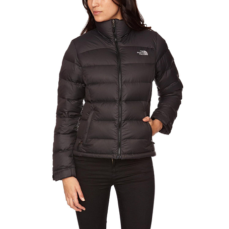 Куртка туристическая THE NORTH FACE Outerwear W NUPTSE 2 JACKET (Black) черный