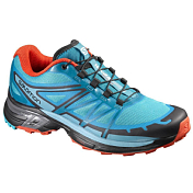 Беговые кроссовки для XC SALOMON 2017 SHOES WINGS PRO 2 W Blue Jay/Fog Blue/La
