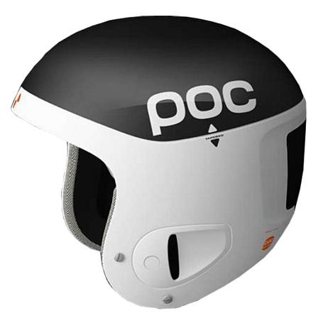 Купить Зимний Шлем Poc Skull Comp 2.0 Black white Шлемы для горных лыж/сноубордов 1242346