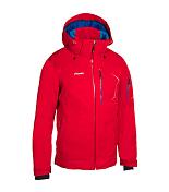 Куртка горнолыжнаяОдежда горнолыжная<br>Функциональная горнолыжная куртка&amp;nbsp;<br> <br> -регулируемый капюшон<br> -эластичные манжеты с отверстием для большого пальца<br> -DERMIZAX-EV с высокой водо- и ветронепроницаемостью&amp;nbsp;<br> Водонепроницаемость: 20000 мм H2O.<br> Воздухопроницаемость 20000 гр./м2/24 часа<br> -Утеплитель PHENIX THUNDERON DIGENITE THERMO, с вкраплениями композитных материалов с добавлением меди и керамики, обладает свойством аккумулировать/накапливать энергию, невидимых для глаз инфракрасных лучей, в том числе и от солнечного света и, генерировать из нее тепло<br> -бесшовная технология, лазерный крой<br> -снегозащитная юбка<br> -боковые карманы, нагрудный карман, карман для скипасса, карман для маски