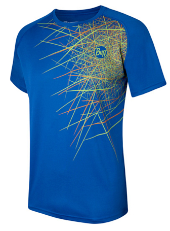 Купить Футболка беговая BUFF Algonquin (Mazarine) синий, Одежда лыжная, 807936