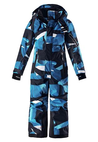 Купить Комбинезон горнолыжный Reima 2017-18 Reach Blue Детская одежда 1351650