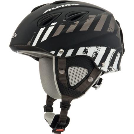 Купить Зимний Шлем Alpina ALL MOUNTAIN GRAP black-grey matt, Шлемы для горных лыж/сноубордов, 1131097