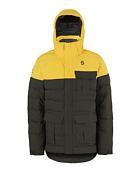 Куртка Горнолыжная Scott 2016-17 Муж.куртка Terrain Down Citrus Yellow/earth Grey Oxford