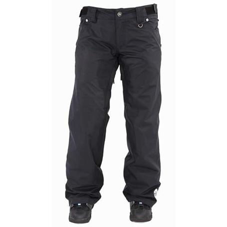 Купить Брюки сноубордические SESSIONS 2011-12 Zero Pant 01A Black, Одежда сноубордическая, 745256