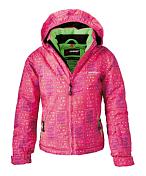 Куртка горнолыжная MAIER 2013-14 03--06 Dotts pink green allover (розовый)