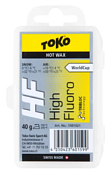 Универсальный парафин TOKO TRIBLOC TRIBLOC HF (жёлтая, 0/-6С, 40 гр.)