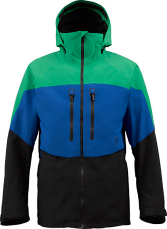 Куртка сноубордическая BURTON 2013-14 M AK 2L SWASH JK TURF/TIDE/TRUE BLACK