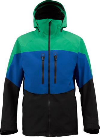 Купить Куртка сноубордическая BURTON 2013-14 M AK 2L SWASH JK TURF/TIDE/TRUE BLACK Одежда 1021919