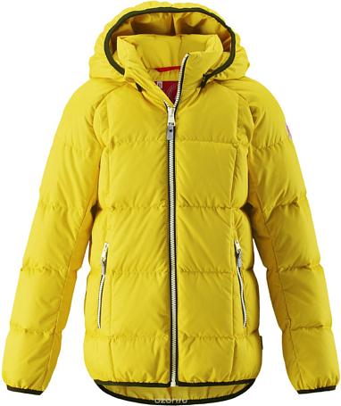 Купить Куртка горнолыжная Reima 2017-18 Jord Yellow Детская одежда 1351729