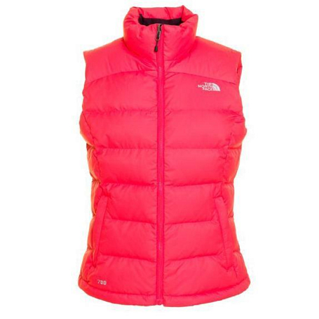 Жилет туристический THE NORTH FACE 2012-13 Outerwear W NUPTSE 2 VEST (TEABERRY PINK) розовый
