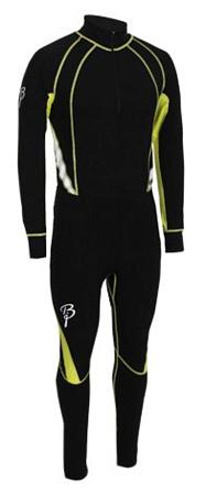Купить Комплект беговой Bjorn Daehlie Race suit CHARGER Black (черный/желтый), Одежда лыжная, 775901