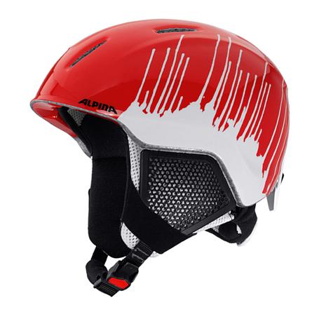 Купить Зимний Шлем Alpina CARAT LX red-splash Шлемы для горных лыж/сноубордов 1279919