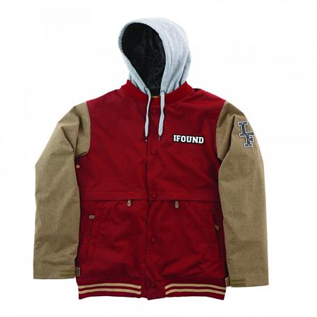 Купить Куртка сноубордическая I FOUND 2014-15 STADUIM 2 JACKET BIKING RED Одежда 1140687