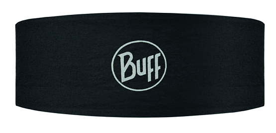 Купить Повязка BUFF Active HEADBAND TECH BLACK LOGO Банданы и шарфы Buff ® 1149601