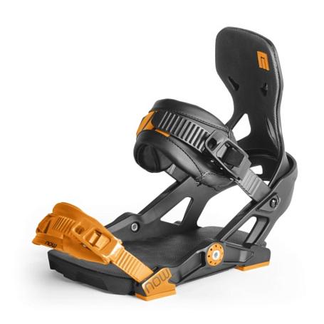 Купить Сноуборд крепления NOW 2013-14 IPO Black/Orange, крепления, 881556