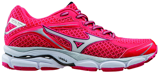 Кроссовки ELITE Mizuno 2016 Wave Ultima 7 (W) роз/бел/чер