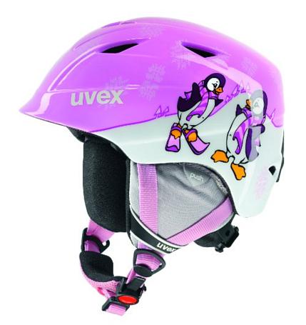 Купить Зимний Шлем UVEX Airwing 2 Pink/Penguin, Шлемы для горных лыж/сноубордов, 847552