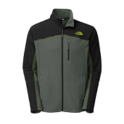 Флис для активного отдыха THE NORTH FACE 2016 M GLACIER TRAIL JKT  SPRC GRN/TNF BK GRN/TNF BK