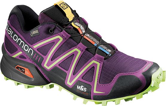 Купить Беговые кроссовки для XC SALOMON SPEEDCROSS 3 GTX W COSMIC PUR Кроссовки бега 1209814