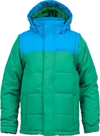 Купить Куртка сноубордическая BURTON 2013-14 BOYS ICON PUFFY JK TURF Детская одежда 1021724