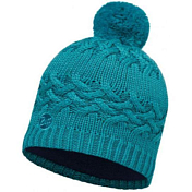 Шапка Buff SKI CHIC COLLECTION KNITTED & POLAR HAT BUFF SAVVA BLUE CAPRI