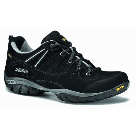 Купить Ботинки для треккинга (низкие) Asolo Natural Shape Outlaw Gv ML Black, Треккинговые кроссовки, 1015542