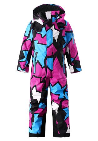 Купить Комбинезон горнолыжный Reima 2016-17 REACH РОЗОВЫЙ Детская одежда 1269732