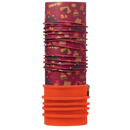 Купить Бандана BUFF JUNIOR POLAR ADVENTURE GRANA / ORANGE-GRANA-Standard Банданы и шарфы Buff ® 1228051