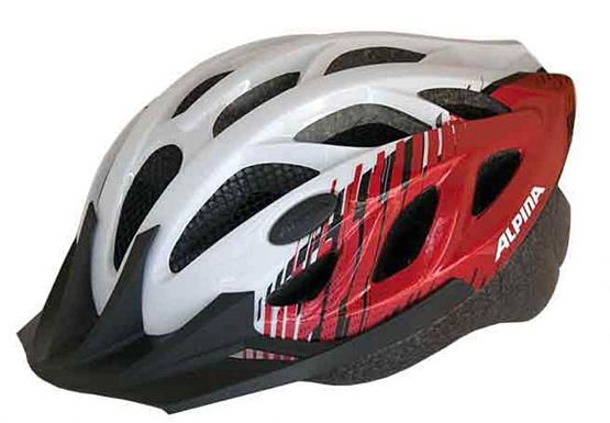 Купить Летний шлем Alpina SMU SOMO Tour 3 white-red, Шлемы велосипедные, 1180275