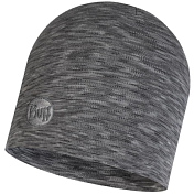 Шапка Buff Heavyweight Merino Wool Hat Fog Grey Multi Stripes