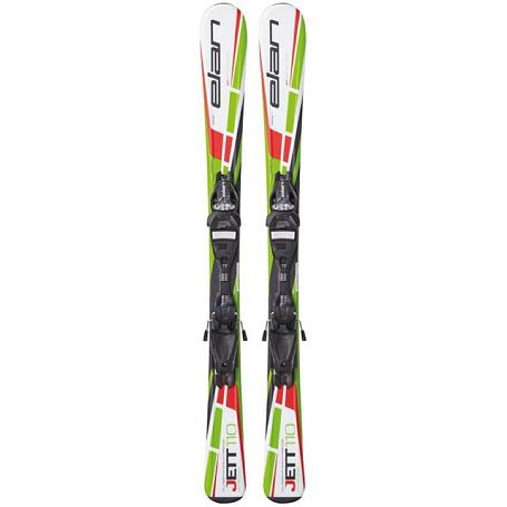 Купить Горные лыжи с креплениями Elan 2014-15 JUNIOR SERIES Jett QT (110-120)+EL 4.5 1121253
