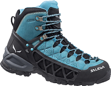 ������� ��� ��������� (�������) Salewa 2015 Hike Approach Women's WS Alp Flow Mid Gtx Venom/bright Acqua /