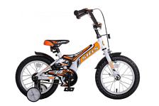 ВелосипедДо 6 лет (колеса 12-18)<br>Детский от 3 до 5 лет велосипед Stels Jet 14 2016. Модель оснащена стальной рамой. Установлены жесткая вилка , ножные тормоза, а также начальное оборудование. Stels Jet 14 2016 непременно обрадует Вашего малыша, обеспечив безопасность при катании и радость от весёлых поездок.<br><br>Tип: От 3 до 5 лет &amp;#40;14, 16&amp;#41;<br>Рама: стальная<br>Тормоза: ножные<br>Вилка: жесткая<br><br>Пол: Унисекс<br>Возраст: Детский