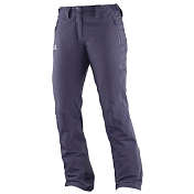 Брюки Горнолыжные Salomon 2016-17 Iceglory Pant W Nightshade Grey