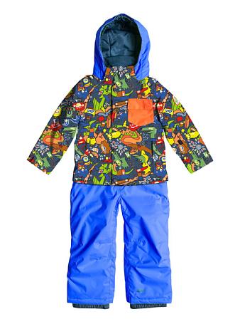 Купить Комбинезон сноубордический Quiksilver 2015-16 Rookie Kids K SNSU OLYMPIAN BLUE Детская одежда 1215795