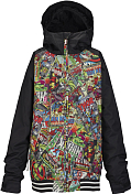 ������ ��������������� BURTON 2015-16 BOYS GAME DAY JK MARVEL/TRUE BLACK