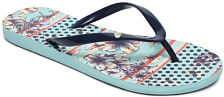 Сланцы Roxy PORTOFINO II LIGHT BLUE
