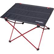 СтолКемпинговая мебель<br>Облегченный складной стол, благодаря малому весу и компактным размерам, можно брать в любое путешествие.<br> В комплект входит чехол для переноски.<br> <br> Столешница: Polyester 600D<br> Вес: 760 гр<br> Размер: 57*41*40 см<br> Размер в сложенном виде: 60*10*10 см<br> Каркас: алюминий 6063 (с узлами из высокопрочного пластика)<br> Максимальный вес: 10 кг