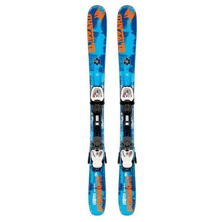 Купить Горные лыжи с креплениями Blizzard 2013-14 Junior GUNSMOKE IQ JR+IQ-4.5 (99-109) BLUE-ORANGE-WHITE 898344