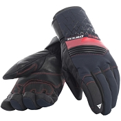 Перчатки горные Dainese 2018-19 HP1 GLOVES STRETCH LIMO/CHILI PEPPER