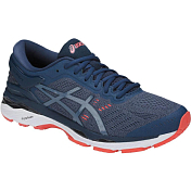 Беговые кроссовки элит Asics 2018 Gel-Kayano 24 Smoke Blue/Smoke Blue/Dark Blue
