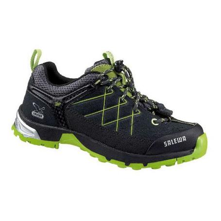 Купить Ботинки для треккинга (низкие) Salewa Junior Approach JUNIOR FIRETAIL L carbon - cactus Треккинговая обувь 896958