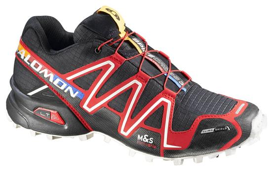 Купить Беговые кроссовки для XC SALOMON SPIKECROSS 3 CS M BLACK/RD/CAN Кроссовки бега 1239799
