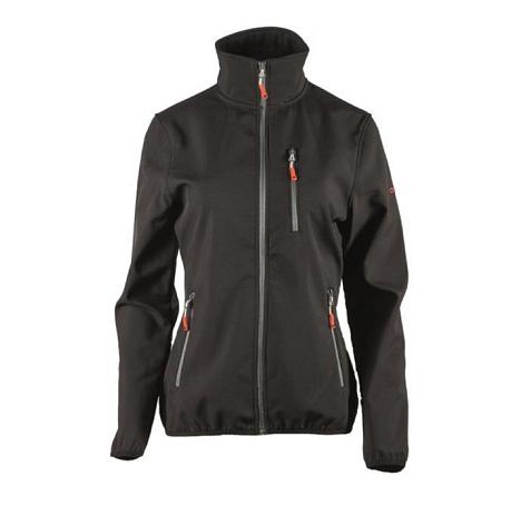 Купить Жакет для активного отдыха GTS 2017-18 Softshell 2-х слойный black Одежда туристическая 1372606