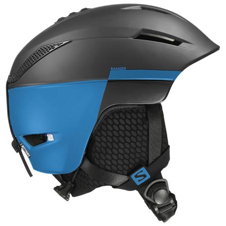 Купить Зимний Шлем SALOMON 2016-17 HELMET RANGER BLACK/Blue Шлемы для горных лыж/сноубордов 1287395