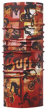 Купить Бандана BUFF High UV Protection JUNIOR HIGH BMX RED Детская одежда 1185741